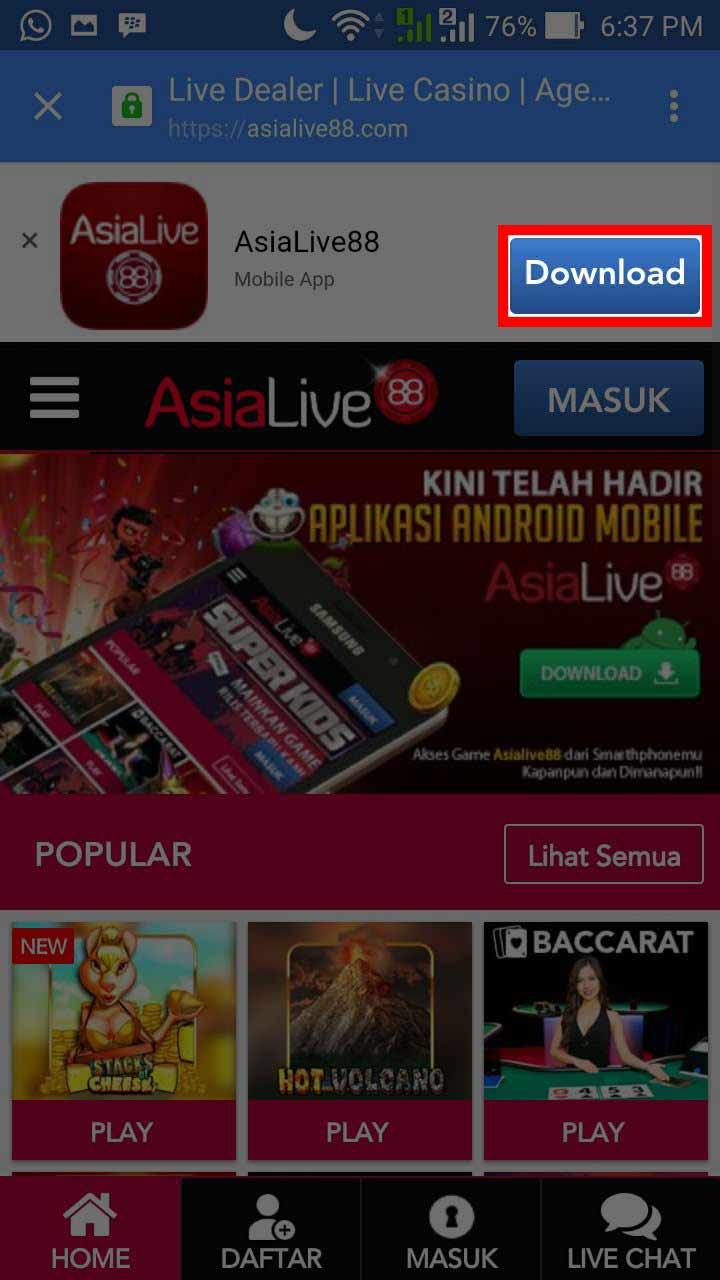 Asialive88 Com Live Casino Online Agen Casino Casino Online